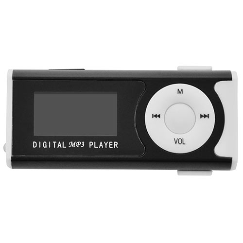 LAMTECH DIGITAL MP3 PLAYER 16GB WITH FM RADIO BLACK LAM020106